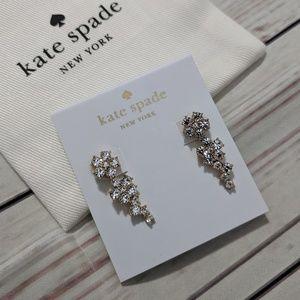 Kate Spade Flower Ear Pins Crawlers Earrings